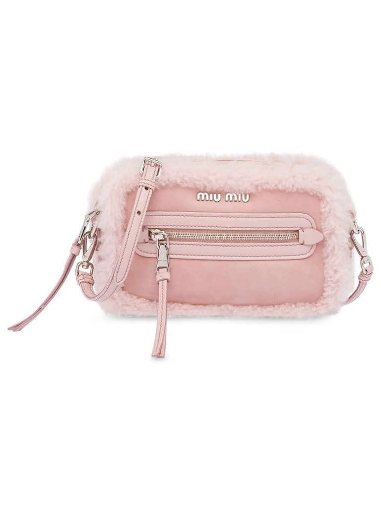 Miu Miu Sheepskin shoulder bag - Pink