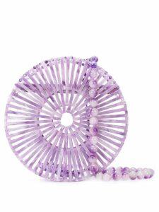 Cult Gaia Luna shoulder bag - Purple