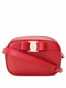 Salvatore Ferragamo Vara bow shoulder bag - Red