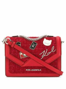 Karl Lagerfeld K/Klassik Pins shoulder bag - Red