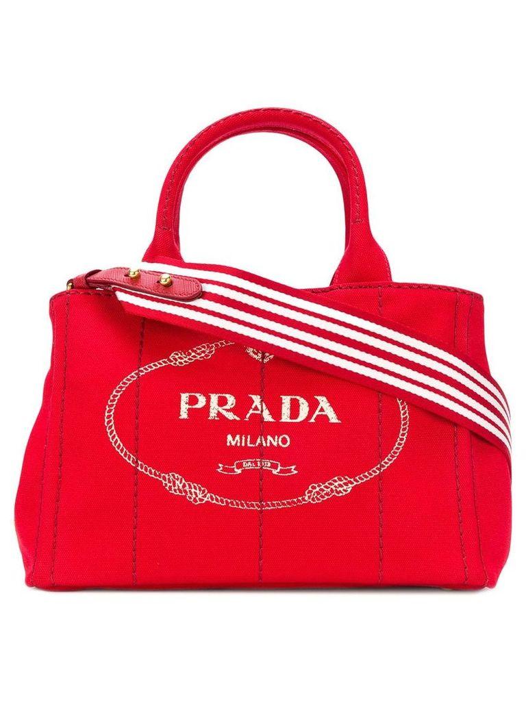 Prada structured tote bag