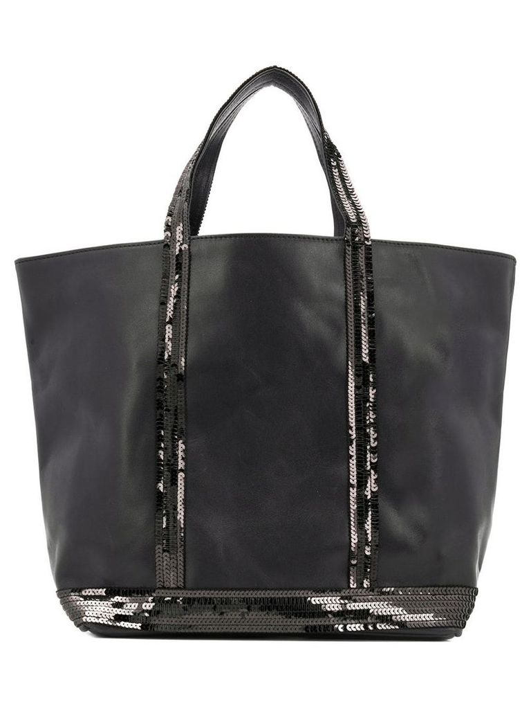 Vanessa Bruno sequined tote bag - Black