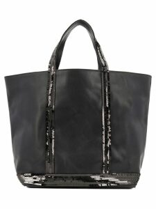 Vanessa Bruno sequined tote bag - Black