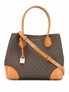 Michael Michael Kors Mercer Gallery monogram tote - Brown