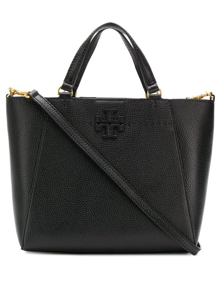 Tory Burch McGraw small carryall tote - Black