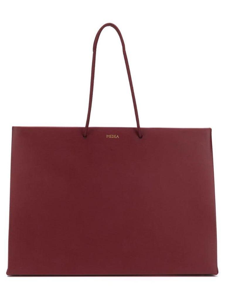 Medea shopper tote - Red