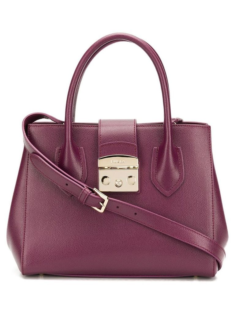 Furla Metropolis small tote - Purple