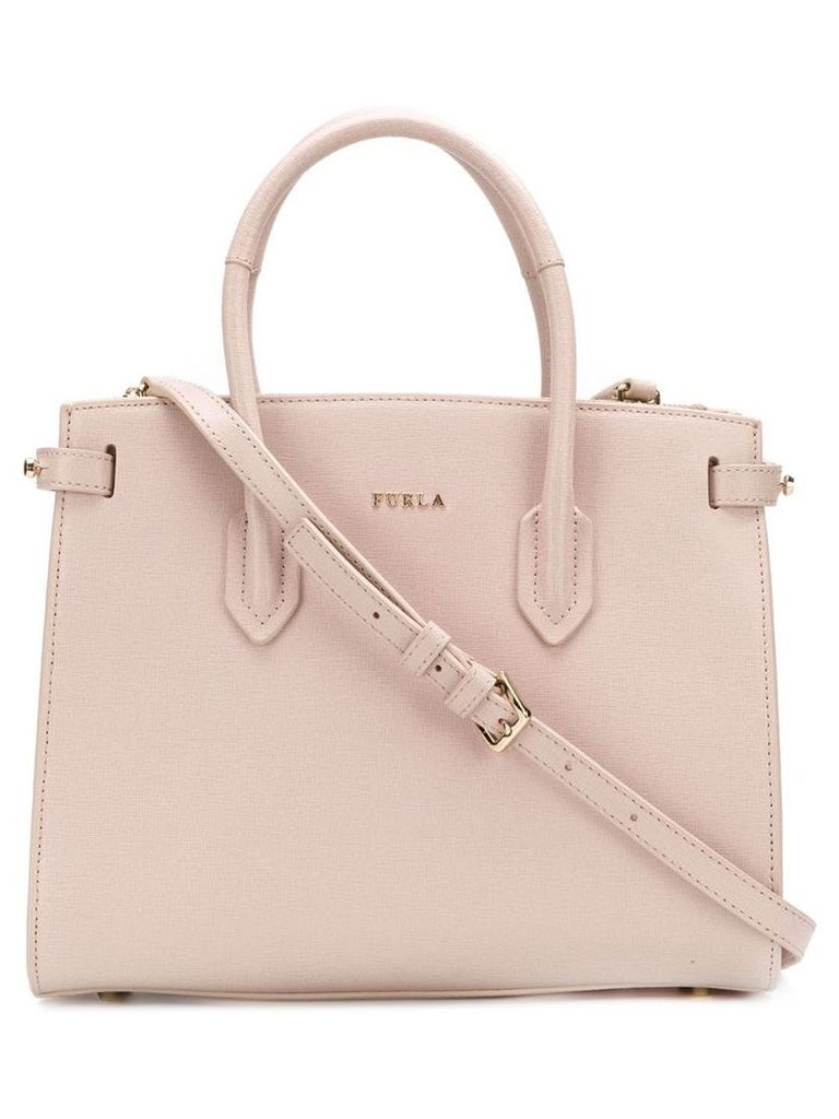 Furla Pin tote bag - Neutrals