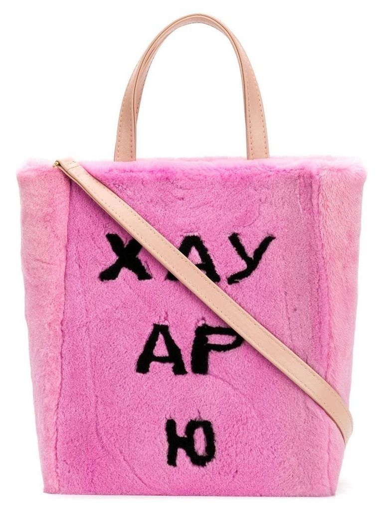 Natasha Zinko small tote bag - Pink