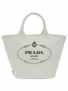 Prada Fabric handbag - White
