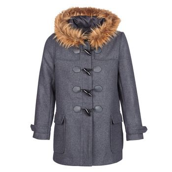 Casual Attitude  HAIELL  women's Coat in Grey