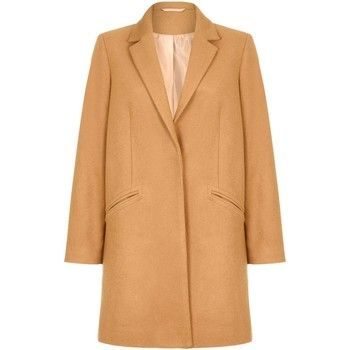 Anastasia  Women's Camel Wool Slim Crombie Winter Coat  women's Coat in Beige