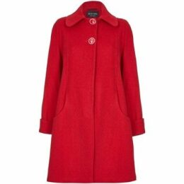 De La Creme  Swing Wool Cashmere Winter Coat  women's Coat in Red