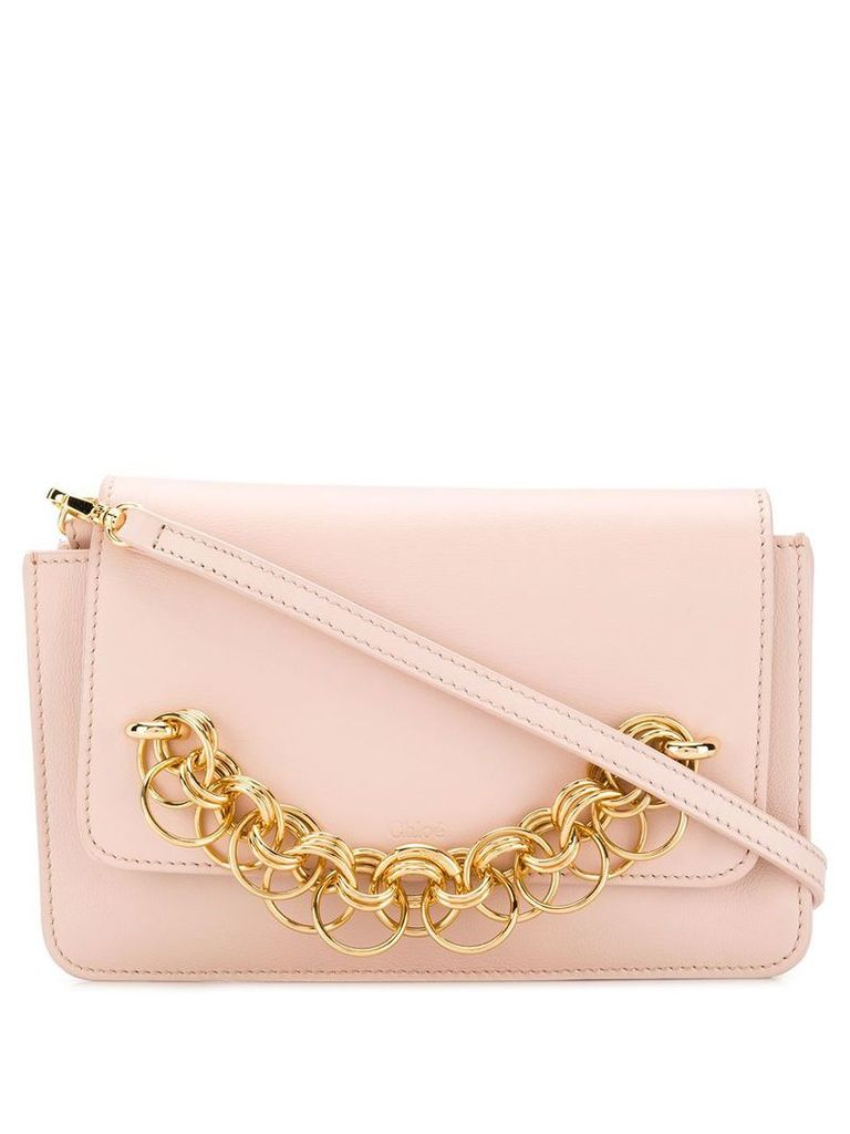 Chloé Drew Bijou cross-body bag - Pink