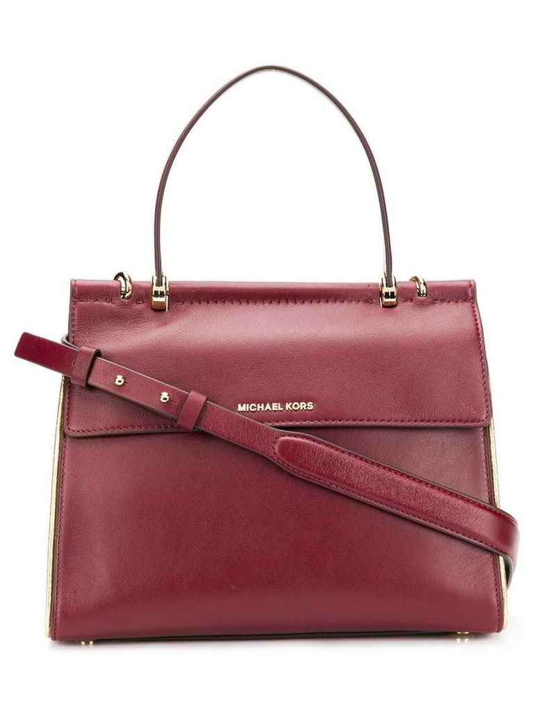 Michael Michael Kors Jasmine satchel bag - Red