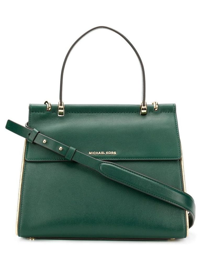 Michael Michael Kors Jasmine satchel bag - Green