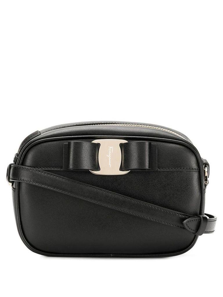Salvatore Ferragamo Vara bow crossbody bag - Black