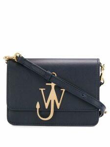 JW Anderson navy anchor logo bag - Blue
