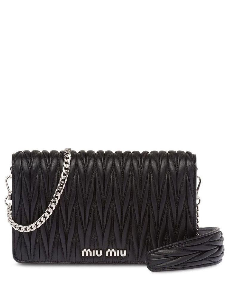 Miu Miu Miu Délice leather bag - Black