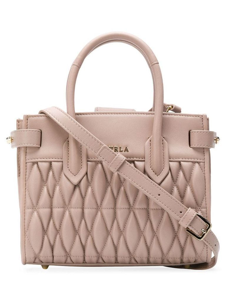 Furla Pin Cometa quilted bag - Neutrals