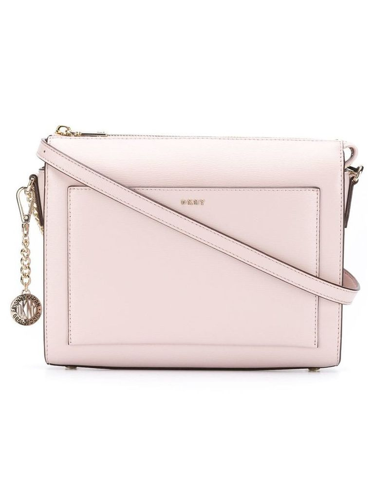 DKNY top zip crossbody bag - Pink