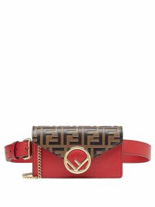 Fendi FF belt bag - Brown