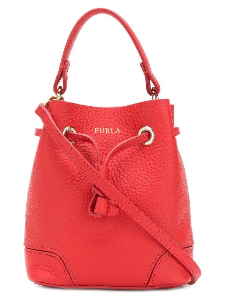Furla Stacy bucket bag - Red