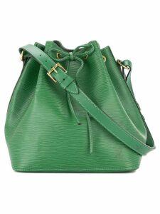 Louis Vuitton Pre-Owned Petit Noe bucket bag - Green