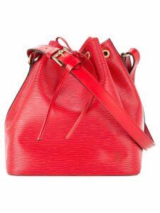 Louis Vuitton Pre-Owned Petit Noe bucket bag - Red