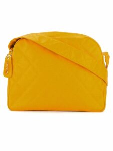 Chanel Pre-Owned diamond quilted shoulder bag - Yellow