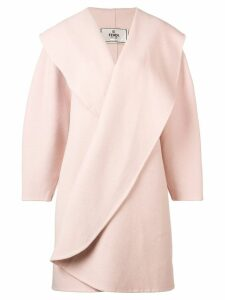 Fendi Pre-Owned 2000 oversized coat - Pink