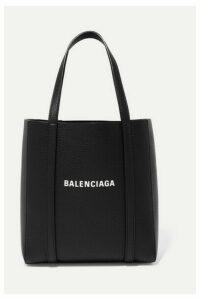 Balenciaga - Everyday Mini Printed Textured-leather Tote - Black