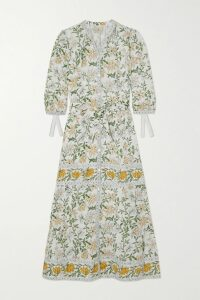 Lisa Marie Fernandez - Ruched Metallic Swim Skirt - Bronze