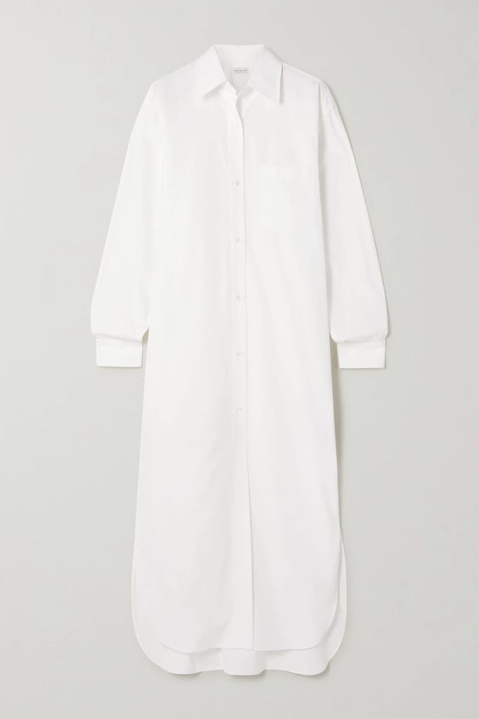 Kalita - Atlas Halterneck Cotton-voile Maxi Dress - Dark green