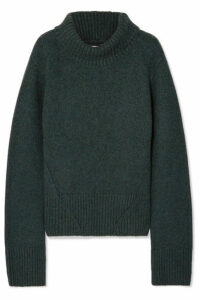 Khaite - Wallis Cashmere Turtleneck Sweater - Green