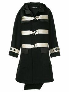 Undercover asymmetric duffle coat - Black