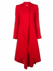 Alice+Olivia Karley wrap coat - Red