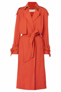 MICHAEL Michael Kors - Belted Cady Trench Coat - Brick