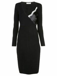 Altuzarra bustier detailed fitted dress - Black