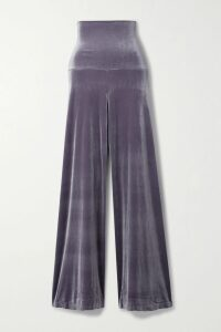 Chloé - Belted Open-back Draped Satin Dress - Ivory