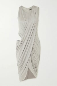 Altuzarra - Agrippina Checked Wool-blend Coat - Black