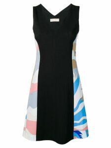 Emilio Pucci Contrast Insert Dress - Black