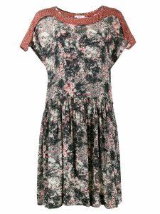 Isabel Marant Étoile Printed Smock Dress - Multicolour