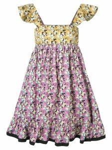 Valentino floral print dress - Pink