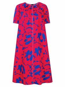 Marni bold print dress - Red