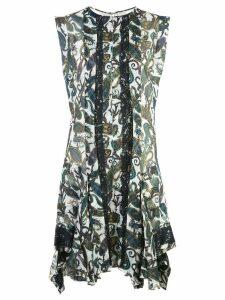 Chloé printed panel dress - Multicolour