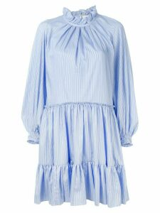3.1 Phillip Lim striped long-sleeve dress - Blue
