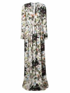 Adam Lippes long floral dress - Multicolour