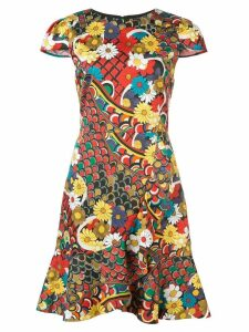 Alice+Olivia Kirby floral print dress - Multicolour