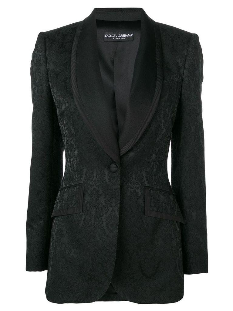Dolce & Gabbana patterned blazer - Black